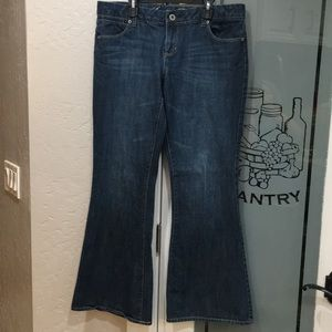 American eagle real flare 💯% cotton jeans
